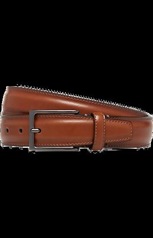 Men's Accessories, Jos. A. Bank Edge-Stitched Leather Dress Belt - Jos A Bank