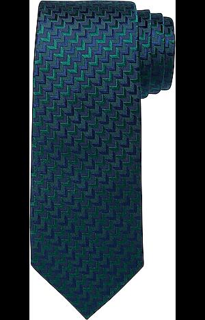 Men's Accessories, Traveler Collection Chevron Tie - Jos A Bank