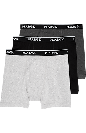 Men's FLYOUT_CATEGORY, Travel Tech Boxer Briefs, 3 pair - Big & Tall - Jos A Bank