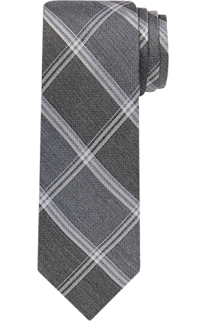 Men's Accessories, 1905 Collection Plaid Tie - Jos A Bank