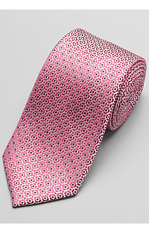 Men's Accessories, Reserve Collection Woven Dot Tie - Jos A Bank