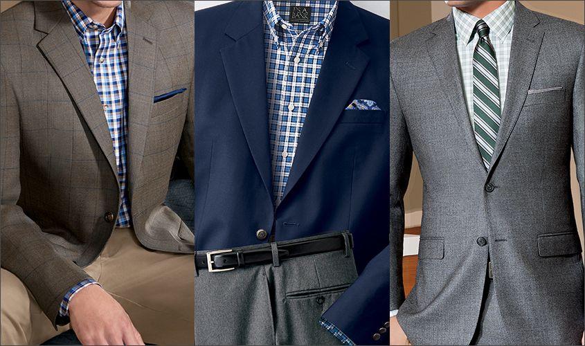 Sport Coat vs. Blazervs.Suit Jacket | JoS. A. Bank